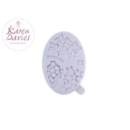 Filler Flowers Mould - Karen Davies