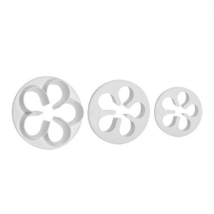 Five Petal Cutter (Set of 3 Large Cutters)
