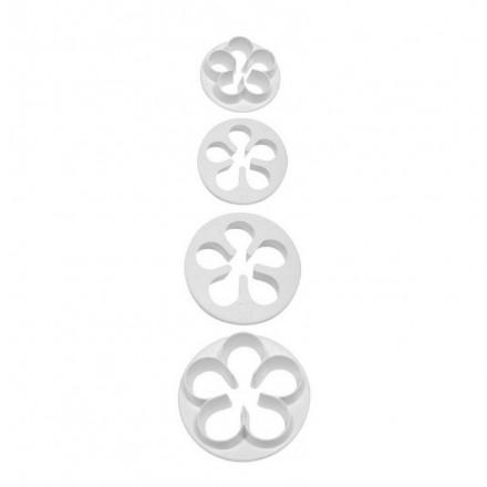 Five Petal Cutter (Set of 4 Small Cutters)