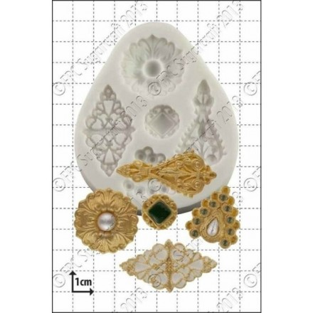 Filigree Brooches Mould