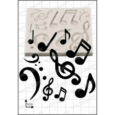Musical Notes Mould - FPC