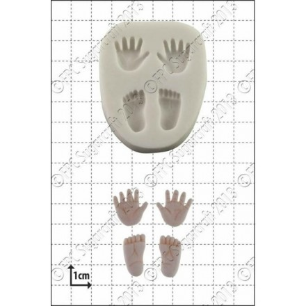 Tiny Hands/Feet Mould - FPC