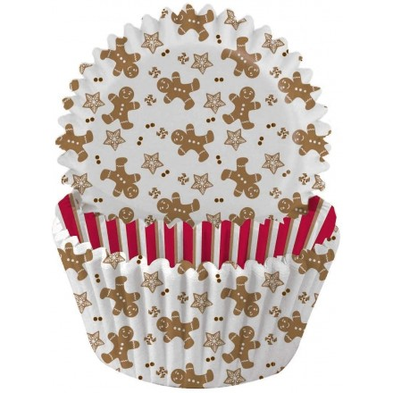 Gingerbread Cupcake cases x 75