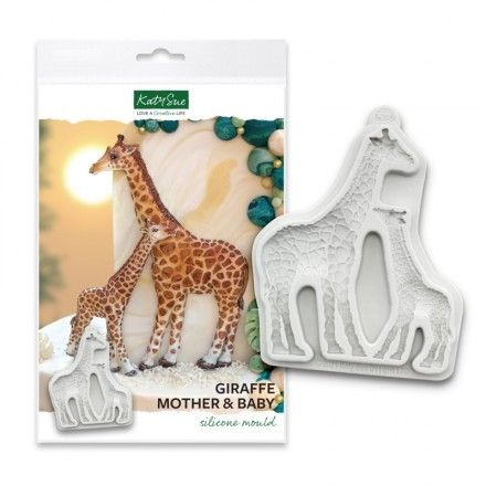 Giraffe Mother and Baby Mould