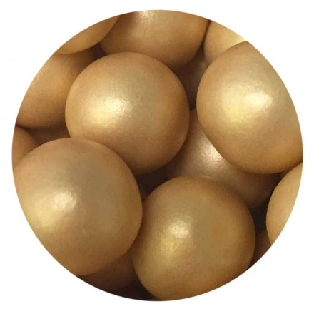 Glimmer Gold Chocoballs - Extra Large 80g