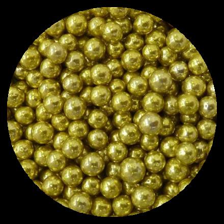 Gold Metallic Dragees 100g