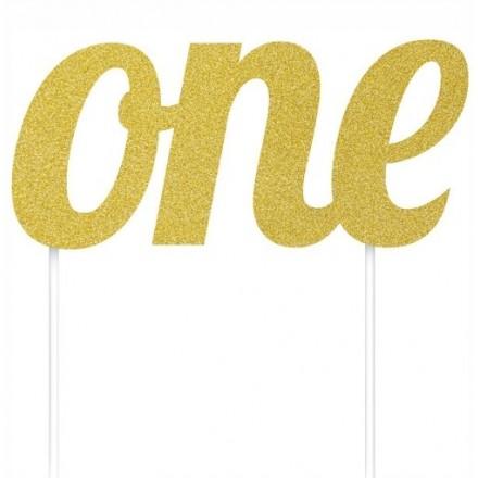 Gold Glitter One