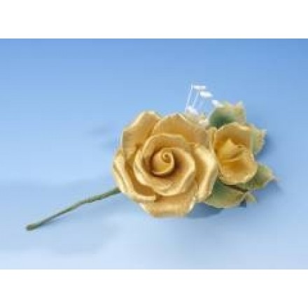 Gold Rose Spray