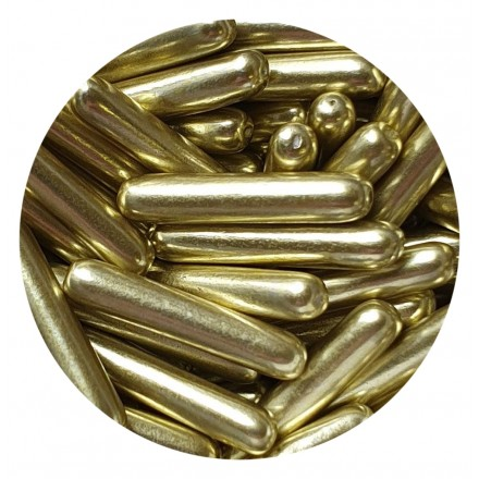 Metallic Gold Rods 100g