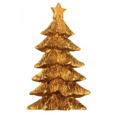 Gold Christmas Tree Topper large