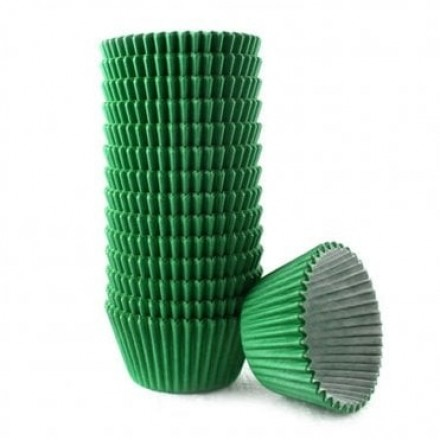 Green Cupcake Cases ROLL OF 180