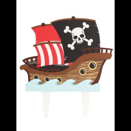 Gumpaste Pirate Ship Pic