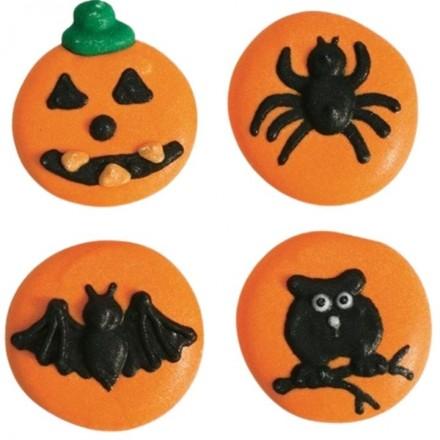 Halloween Button Sugar Decorations