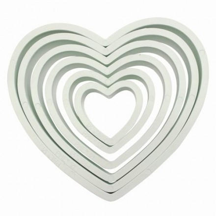 Heart Cutters (Set of 6)