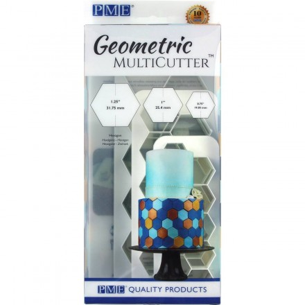 Hexagon Multicutter (set of 3)