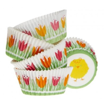 Easter Chick Cupcake cases