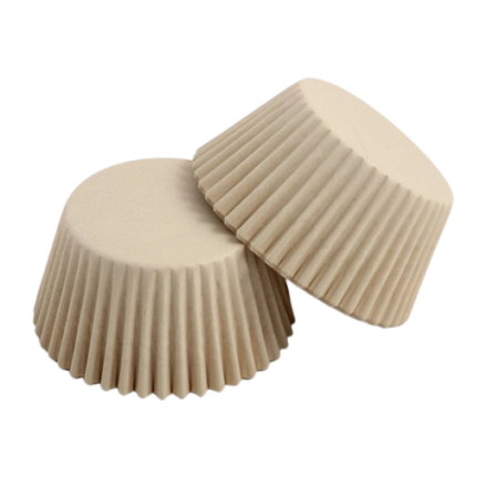 Ivory / Champagne Cupcake Cases ROLL OF 180