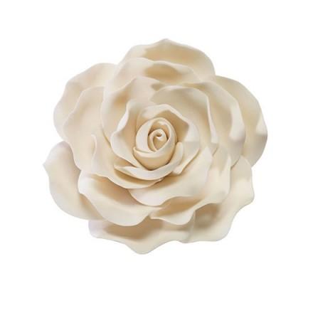 Ivory Sugar Rose - 10cm