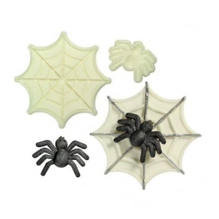 Jem Pop It Spider and Web Mould