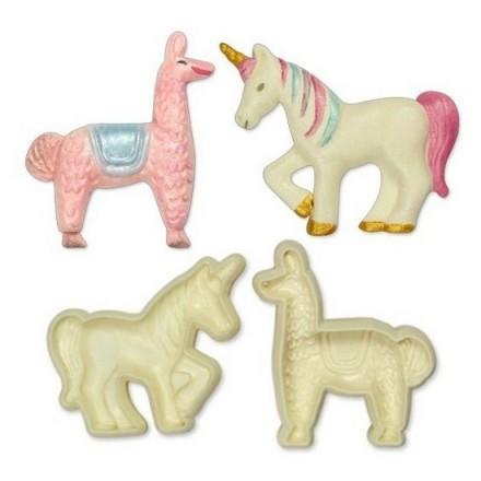 Jem Pop It Exotic Animals Mould (Llama and Unicorn)