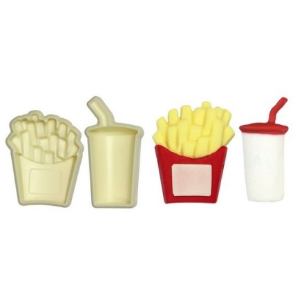Jem Pop It Fries and Drink Mould