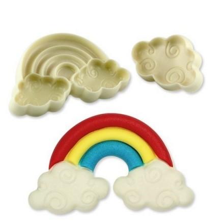 Jem Pop It Rainbow and Cloud Moulds