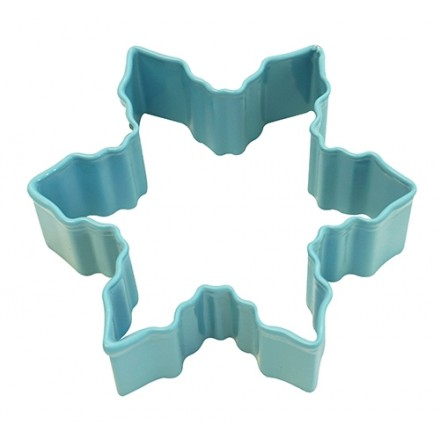 Snowflake Cookie Cutter Small Blue