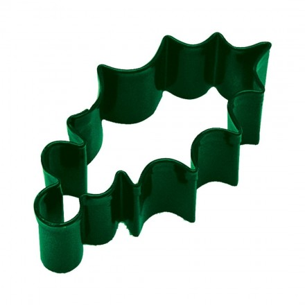 Holly Leaf Green Cookie Cutter