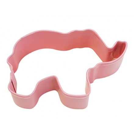 Elephant Cookie Cutter - Pink