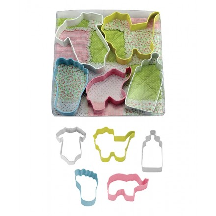 dnr Baby Set Cookie Cutter (Set Of 5)