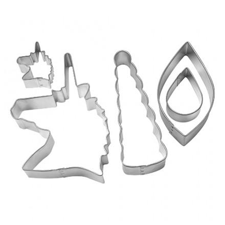 Unicorn 5 Piece Decorating Cutter Set