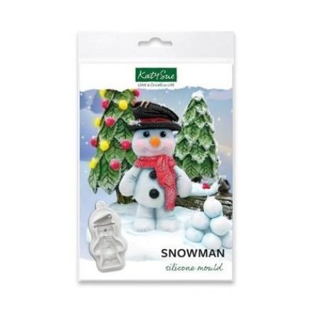 Snowman Silicone Mould