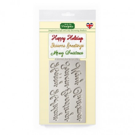 Word Perfect Holiday Mould Set