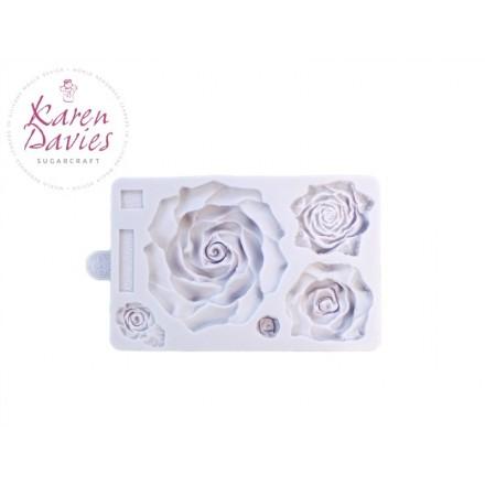 Large Rose Mould - Karen Davies