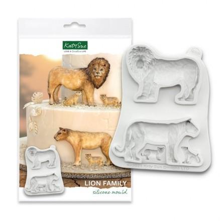 Lion Family Mould
