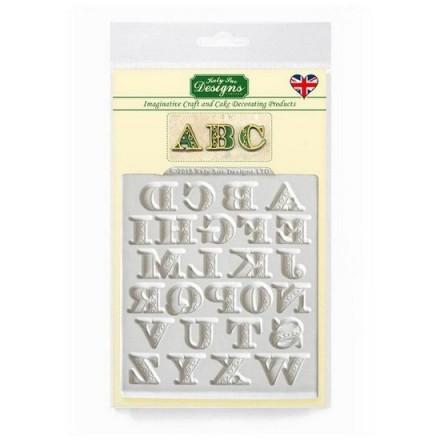 Manuscript Alphabet Mould