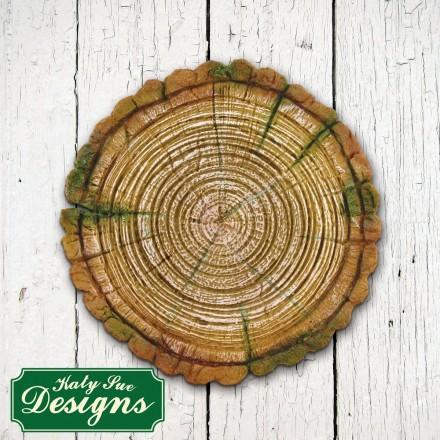 Log Slice Medium Mould