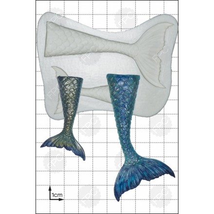 Mermaid Tails Mould