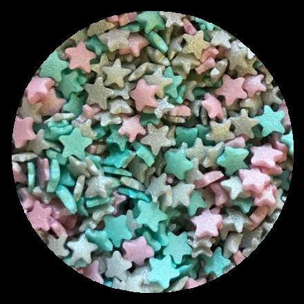 Mini Glimmer Stars Unicorn 100g