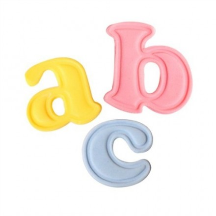 Mini Lower Case Alphabet Plunger Cutters