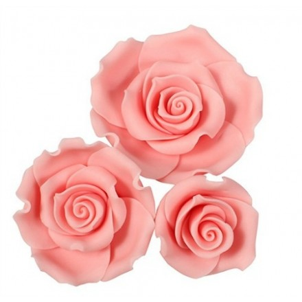 Pink Sugar Soft Roses - Mixed Box of 12
