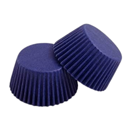 Navy Blue Cupcake Cases ROLL OF 180