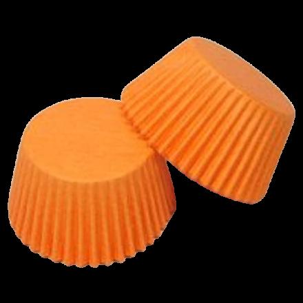 Orange Cupcake Cases ROLL OF 180
