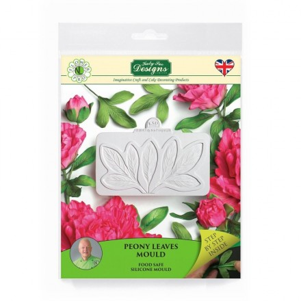 Peony Leaves Silicone Mould
