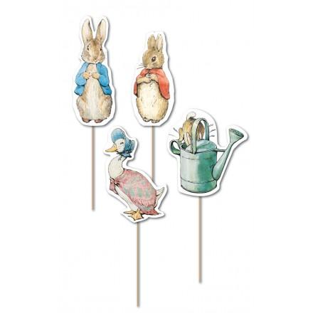 Peter Rabbit Cupcake Picks