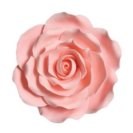 Pink Sugar Rose - 10cm