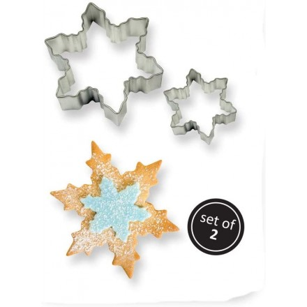 Snowflake Cutter Set of 2