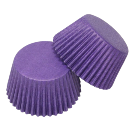 Purple Cupcake Cases ROLL OF 180