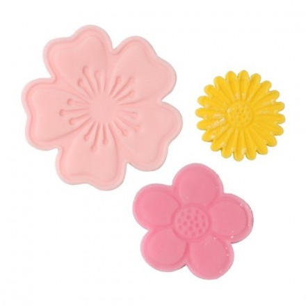 Push Easy Flower Cutters (set of 6)