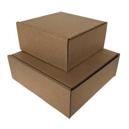 Kraft Postal Boxes